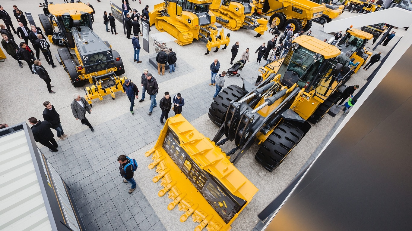 Компания John Deere совместно с Wirtgen Group на Bauma 2019